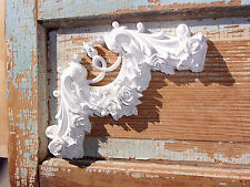 SHABBY & CHIC FURNITURE APPLIQUES  ROSE CORNER LARGE * FREE SHIPPING USA