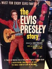 Signed ELVIS PRESLEY 1st edition book by James Gregory SIGNED BY ELVIS