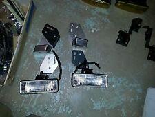 88-89 CRX new fog light brackets stainless steel