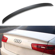 ABS OE STYLE REAR BOOT TRUNK WING LIP PERFORMANCE SPOILER FOR AUDI A6 C7 14+