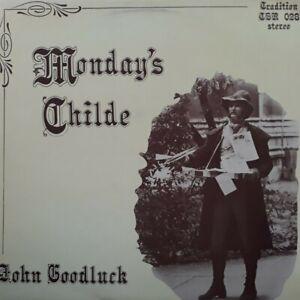 John Goodluck-Monday's Childe Signed Vinyl LP.1977 Tradition TSR 028.Reynardine+