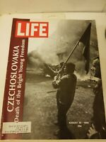 VTG Life Magazine August 30 1968 - Czechoslovakia, Death of Bright Young Freedom