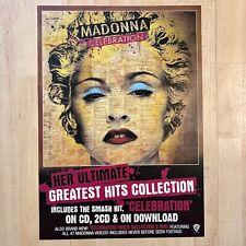 MADONNA CELEBRATION POSTER! Rare Promo Limited NOT litho SEX Madame X Tour DVD 2