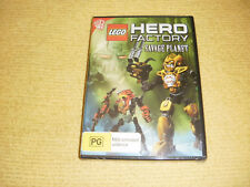 LEGO HERO FACTORY : SAVAGE PLANET animated 2012 DVD NEW & SEALED kids family R4
