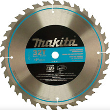 Makita 10 in 32 Teeth Carbide Table Circular Saw Blade Wood Cutting Tool Cutter