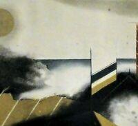 Tuvia BEERI (*1929) TOP-Farbradierung 1987: - SOLEIL GRIS -