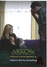 Arrow Season 2 Red Foil Parallel Base Card #37 I Need to Tell You Something