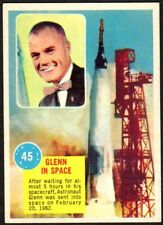 1963 TOPPS ASTRONAUTS Card #45 JOHN GLENN IN SPACE (MINT)