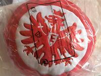 Eintracht Frankfurt Kissen LOGO ca.32 cm rund Bundesliga  Neu,OVP,Lizenz,Rarität