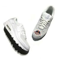 Nike Air Max 90 Recraft Triple White CN8490-100 Men's size 9.5