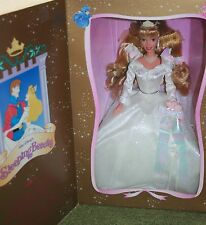 BARBIE WALT DISNEYS WEDDING SLEEPING BEAUTY FROM MATTEL 1997