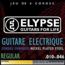 Elypse - Cordes pour guitare électrique - ES-705C - Jeu deluxe 10 46 regular