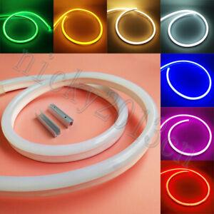 Super Bright 12V 2835 LED Neon Tube Strip Light Rope Flexible Waterproof 12W/m