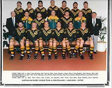 1987 AUSTRALIAN RUGBY LEAGUE TEAM OFFICIAL PHOTO (v NEW ZEALAND 21/7/87)