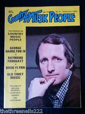 COUNTRY MUSIC PEOPLE - SEPT 1984 GEORGE HAMILTON IV