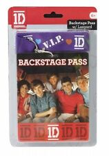 One Direction 1d Vip Backstage Pass Lanyard Unisex Accessories Brand New Gift