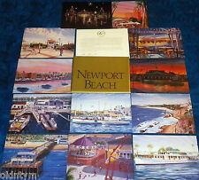 SET 12 BALBOA NEWPORT BEACH POSTCARDS STEVE SIMON ART FERRY PAVILLION FUN ZONE