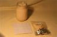 25 COTTON WICKS & 25 STICK UMS FOR JAR CANDLES 4 SIZES