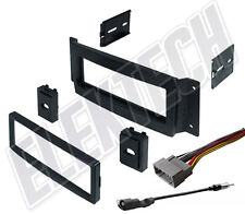 Radio Dash Replacement Kit Single-DIN w/Harness/Antenna for Chrysler Pacifica