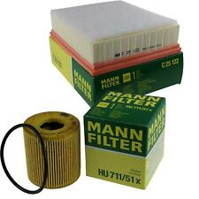 MANN-FILTER Set Oil Filter Air Filter Inspection Set MOL-9694205