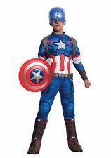 Marvel Avengers Captain America Muscle Chest Boys Halloween Costume Large #5032