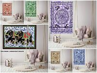 Indian Om Tapestry Hippie Wall Hanging Poster Bohemian Mandala Wall Decor Throw
