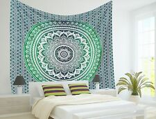 Hippie Tapestry Ombre Indian Mandala Wall Hanging Bedding Bedspread Ethnic Throw