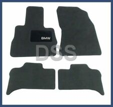 New Genuine BMW X5 Carpet Floor Mats Cloth Mat Anthracite Black OEM 82110008635