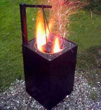 Schmelzofen Metall gießen schmelzen Schmiedeofen Bauanleitung Brennofen Gold