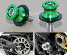 10mm CNC Swing Arm Slider Spool Bobbin For Kawasaki ZX14R ZZR1200 ZRX1100 ZXR400