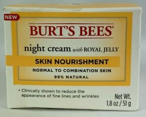 Burt's Bees Night Cream with Royal Jelly, 1.8 oz / 51 g