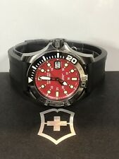 VICTORINOX Dive Master 500 Men's Rubber Strap Quartz Watch 241427 50ATM 43mm