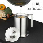 Best Soup Strainers - Kitchen Cooking Oil Filter Pot Soup Grease Strainer Review