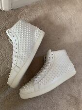 Gucci spike high tops men sport shoes sneakers cool trainers 100% genuine rare