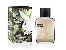 Genuine Playboy Play It Wild Eau de Toilette EDT 60ml Spray for Him