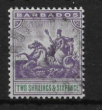 BARBADOS SG115 1903 2/6 VIOLET & GREEN USED
