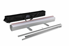 Aluminum 3381 Retractable Roll Up Banner Stand Set No Display Included