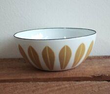 "Vintage 4"" enamel ware cathrineholm catherine cathrine Holm avocado lotus bowl"