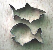 Ocean creature whale shark fondant baking metal stainless cookie cutter set
