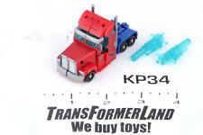 Optimus Prime 100% Complete Cyberverse Commander Prime Transformers