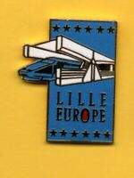 Pin's lapel Pins pin Train SNCF TGV GARE LILLE EUROPE ETOILES LUCIE LILLE EGF