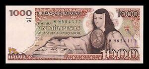 B-D-M México 1000 Pesos 1984 Pick 80b Serie VN SC UNC