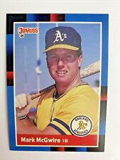 1988 Donruss Mark McGwire #256 Athletics Baseball Card Great For Grading