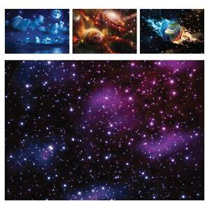 Vlies Fototapete Galaxie Weltraum Universum Planeten Sterne Weltall Decke Kinder