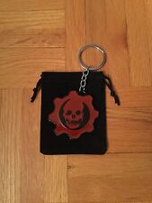 Gears of War Logo Keychain with Pouch