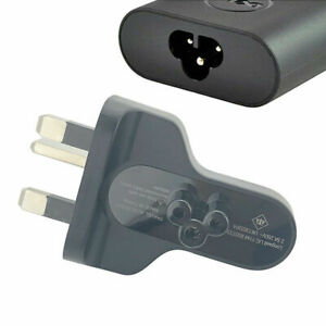 genuine 3 Pin UK AC clover Plug for Dell XPS  30W Adapter Charger 0DFWKX
