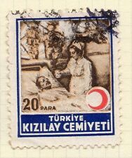 Turkey 1950s Child Welfare Early Issue Fine Used 20p. 063118