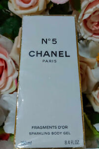 ❤️CHANEL No.5 SPARKLING BODY GEL LIMITED EDITION 8.4 Oz 250ml,sealed☆☆☆