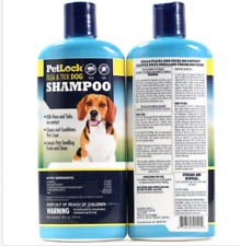 2 Pet Lock Flea And Tick Dog Shampoo Kills On Contact Cleans And Conditions 16oz