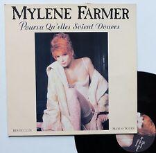 """LP maxi Mylene Farmer  """"Pourvu qu'elles soient douces"""""""